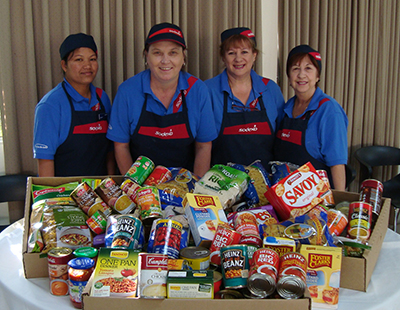 Sodexo partners with Foodbank to supply vital staple foods