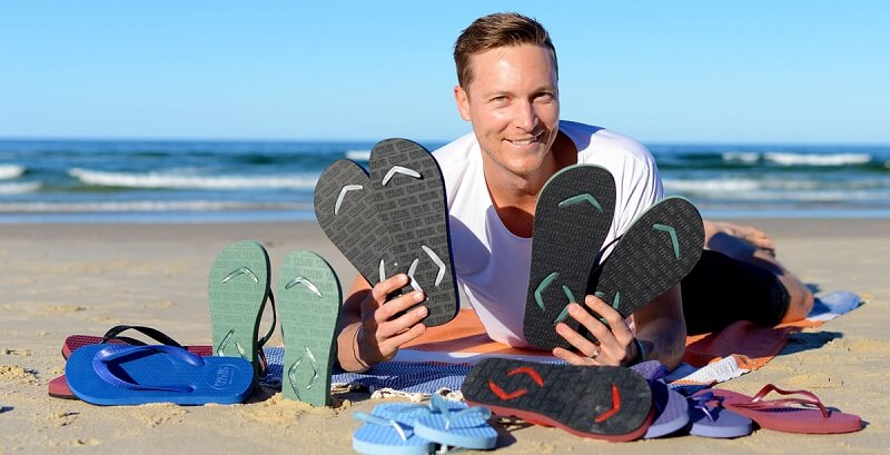 Aussie thongs innovator rebrands as Boomerangz